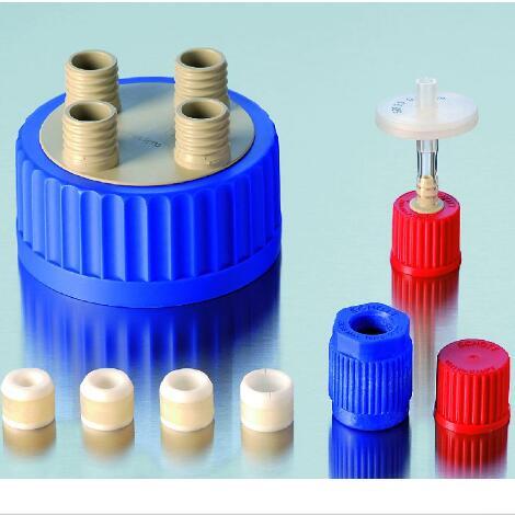 Schott Duran 肖特 GL80配套盖子,倾倒环,透气盖,四孔盖等80mm直径广口瓶盖子